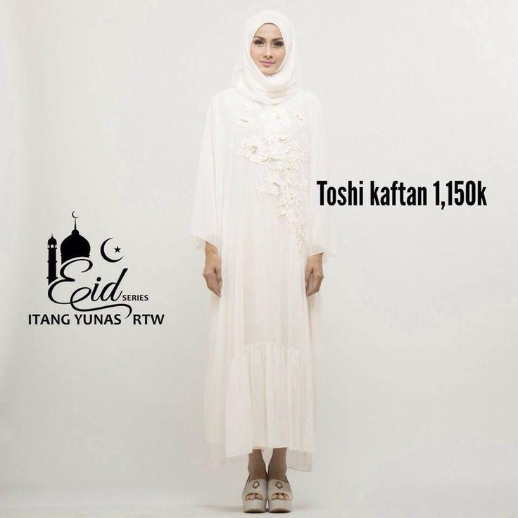 koleksi ramadhan by Itang Yunasz Ready To Wear  untuk info dan pemesanan SMS/WA 085395385663 atau Line moshaictmks  #dress #hijab #hijabfashion #eidseries #fashion #itangyunasz