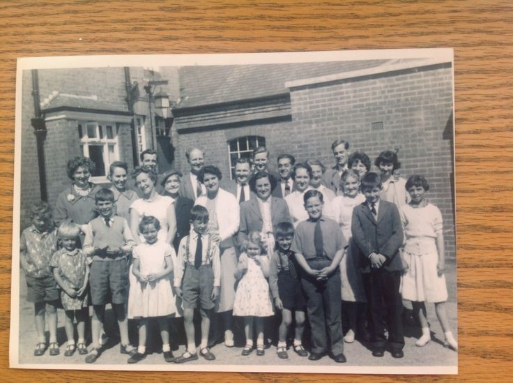 Blackheath Cong attending a special talk at Halesowen Town Hall in the West Midlands  back in the 1960's. I'm 4th child in on the front row counting from the left with my bro to my left and my mom behind me. David Sidbrey is the on the back row first on the right. Lovely memories for me.