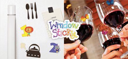 Window Sticky sonstickers de vinilelectroestático, súper divertidos para que decores ventanas, vidrios, mosaico, vasos de plástico y vidrio , así comocopas de cristal. ¡Se pegan y despegan las veces que quieras sin dejar ningún residuo y se ven por ambos lados! 