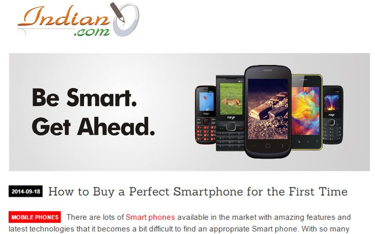 How to buy a smartphone is the biggest question which oftenly  strikes the mind of the users. Make your mind clear while choosing a smartphone.  Read here to explore how: http://bit.ly/1q17Cm5