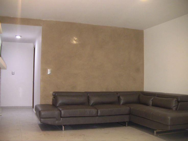 Proceso concluido stucco lucido pinterest for Colores de pintura para sala
