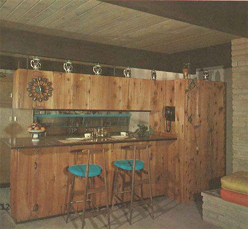 mid century knotty pine kitchens | mid-century-knotty-pine-kitchen