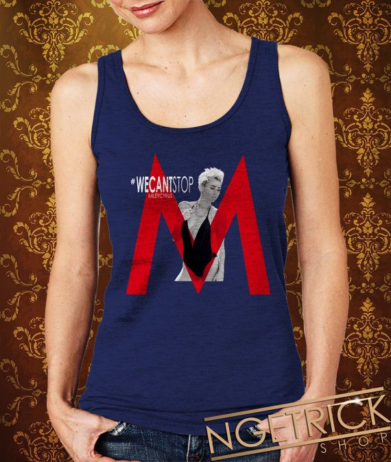 Miley Cyrus Red We Cant Stop Women's Tank  Miley Cyrus by Ngetrick, $20.50