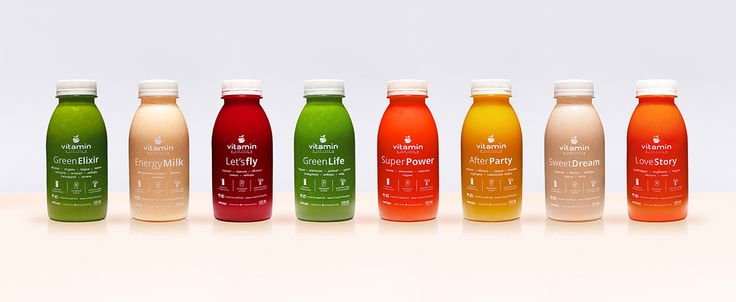 TheBestPackaging.ru – VITAMIN RAW FOOD – детские напитки от United Media