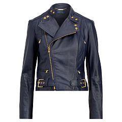 Veste moto en cuir - Polo Ralph Lauren Vestes en cuir - Ralph Lauren France