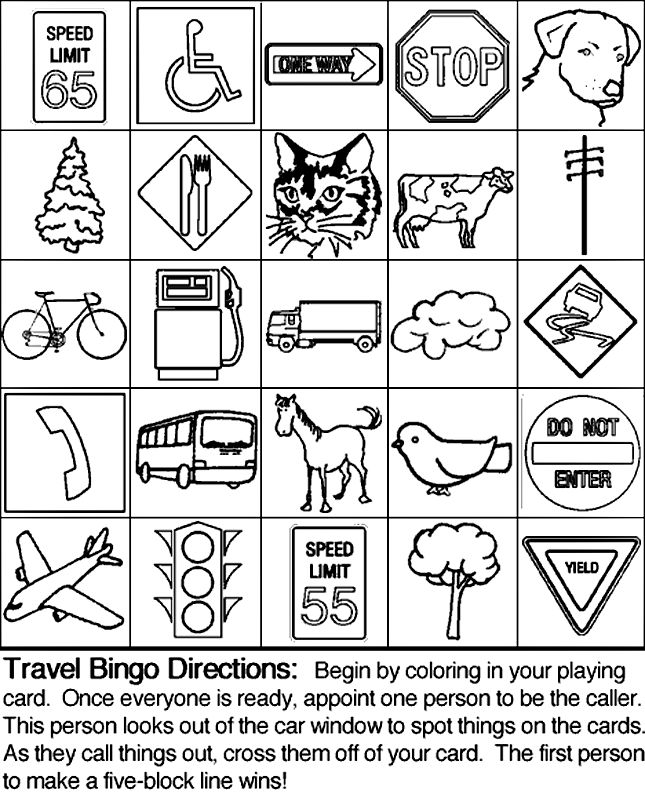 City Buildings Coloring Activity