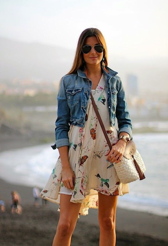 43 best Denim jacket and dress images on Pinterest | Denim jackets ...