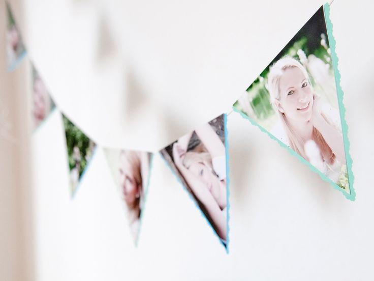 Foto-Wimpelkette von KlebBlatt auf DaWanda.com