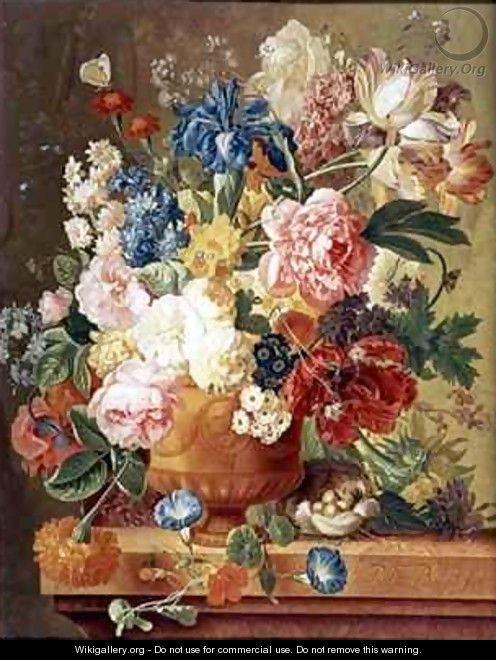 Paul Theodor van Brussel - flori intr-o vaza