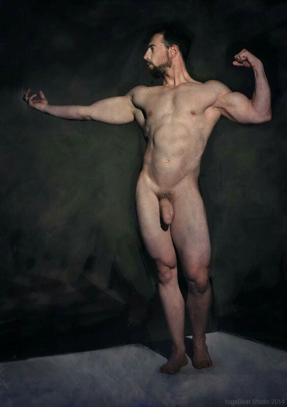 nude model male art