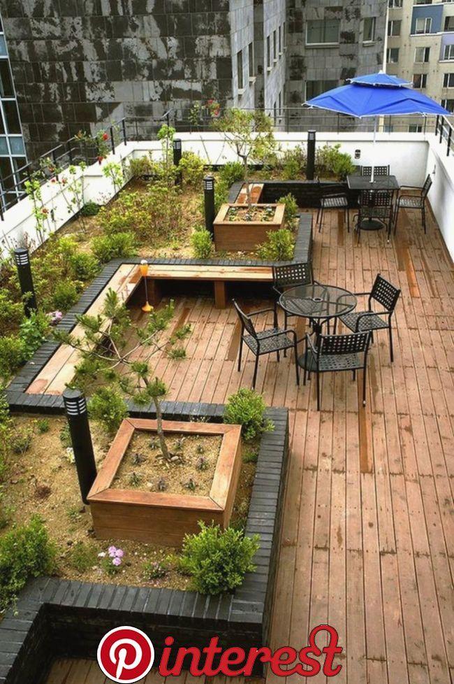33 Beautiful Rooftop Garden Design