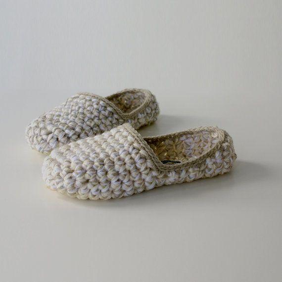 Low Rider House Slippers Beige Vanilla White by WhiteNoiseMaker