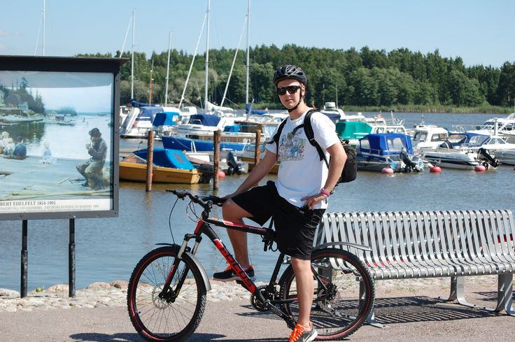 Explore Porvoo and the charming surroundings by bike.  www.visitporvoo.fi