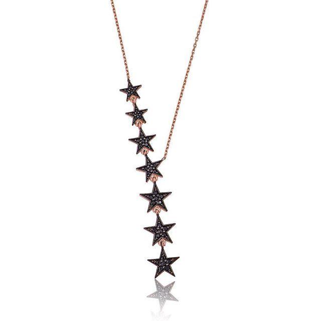 Gümüş siyah kayan yıldızlar kolye @bayanlilicom 'da  99,80 ₺.⭐️ #gümüş #gumus #silver #siyah #black #kayan #sliding #yıldızlar #stars #kolye #necklace #bayanlili #bayan #lady #girl #takı #jewelry #iyi #nice #alışveriş #shopping #sanat #art #style #trend