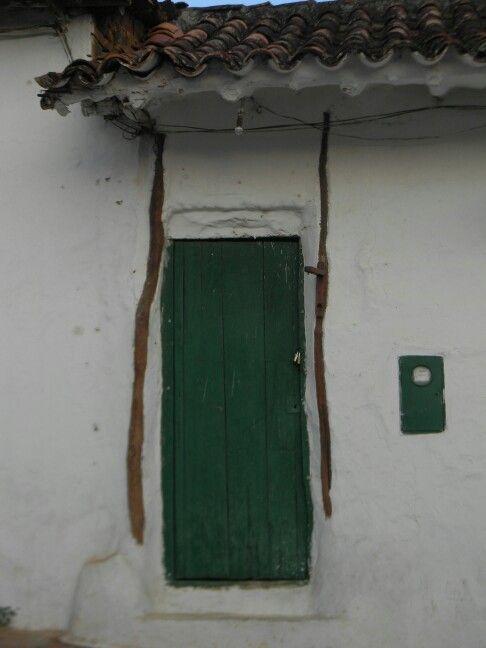 Puerta de la colonia, Barichara, Colombia