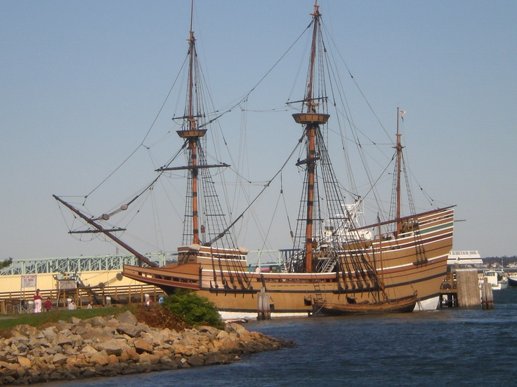 The Mayflower Replica In Plymouth Ma Been There To