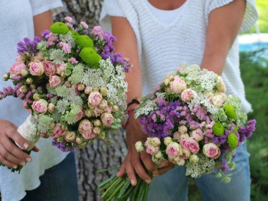 rosas de pitimini silvestre - ramo novia