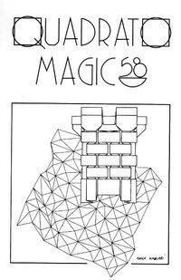 Quadrato Magico Magazine 58 book cover