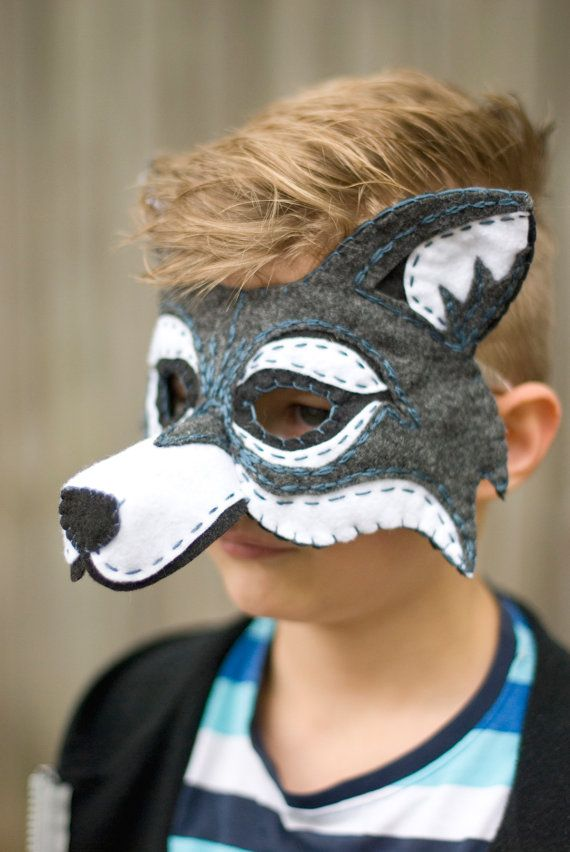 17 best images about masks on pinterest sheep mask donkeys and papier mache - Masque halloween a fabriquer ...