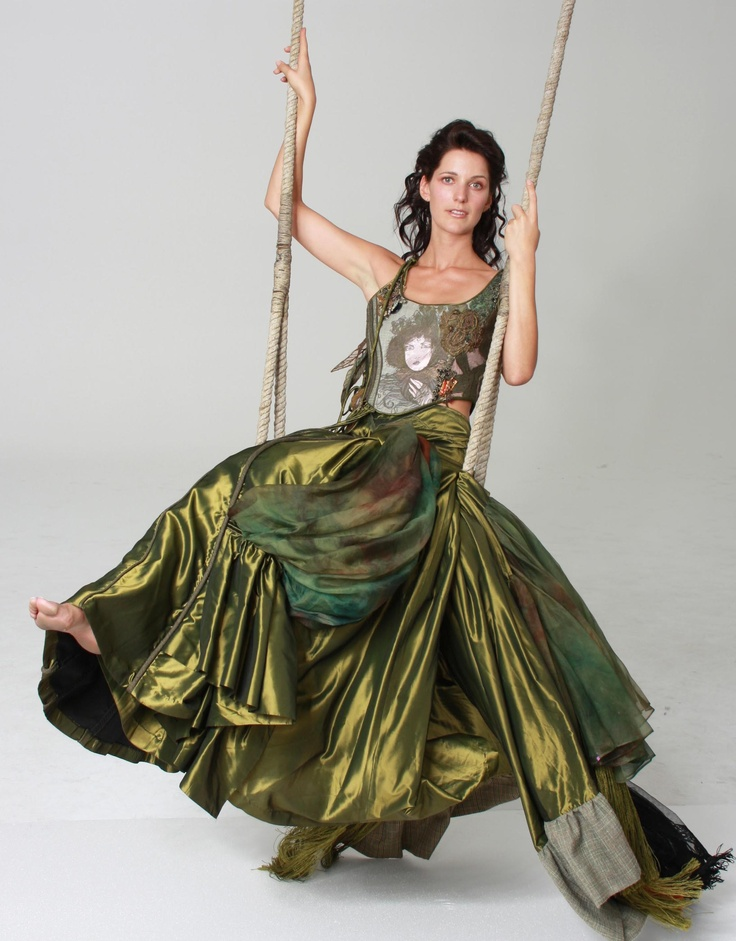 'Unkempt Woman'    Designed and made by Kirry Toose  Photographer: Briar Toose