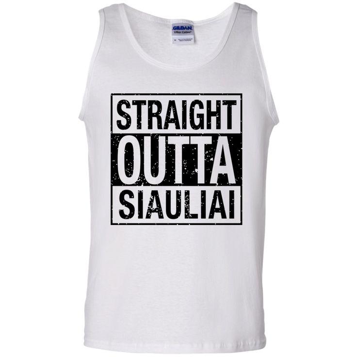 Outta Siauliai -- Guys Tank Top