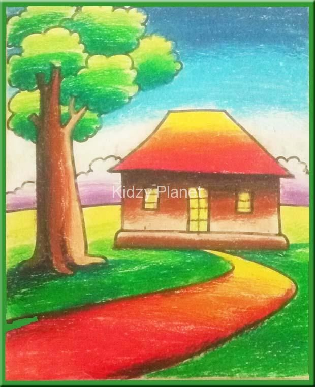 Image Result For Oil Pastel Drawings Easy Oil Pastel Oil Pastel