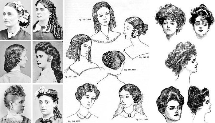 Victorian Inspired Hairstyle Victorian Hairstyles Victorian Era Hairstyles Hair Styles