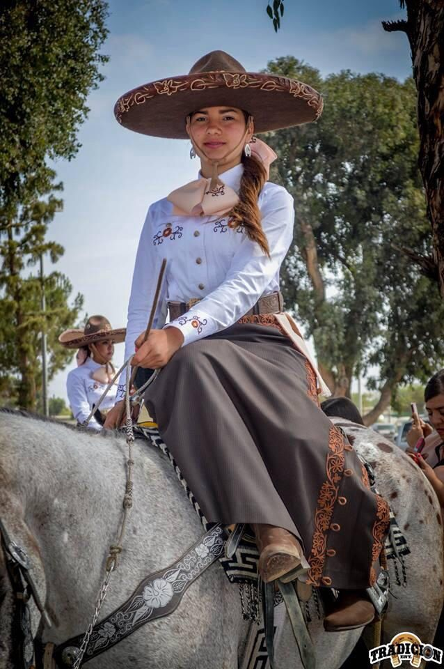 Hermosa charra, cowgirl from Mexico