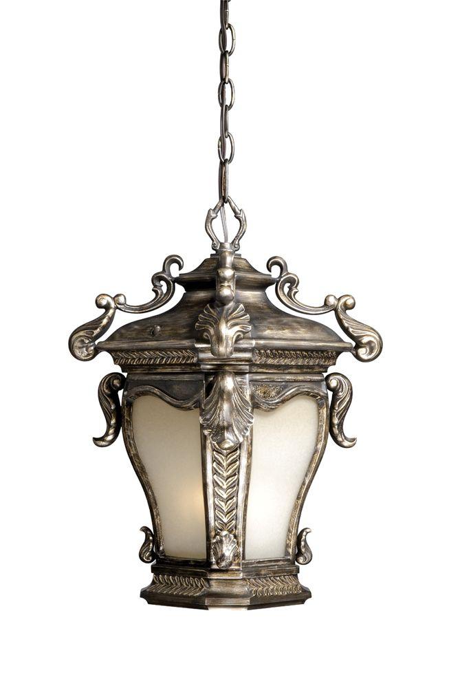 vaxcel lighting acodd110 acacia 11 inch outdoor pendant parisian bronze