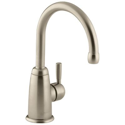 Kohler Wellspring Beverage Faucet with Contemporary Design Complete with Aquifer Water Filtration System Finish: Vibrant Brushed Bronze