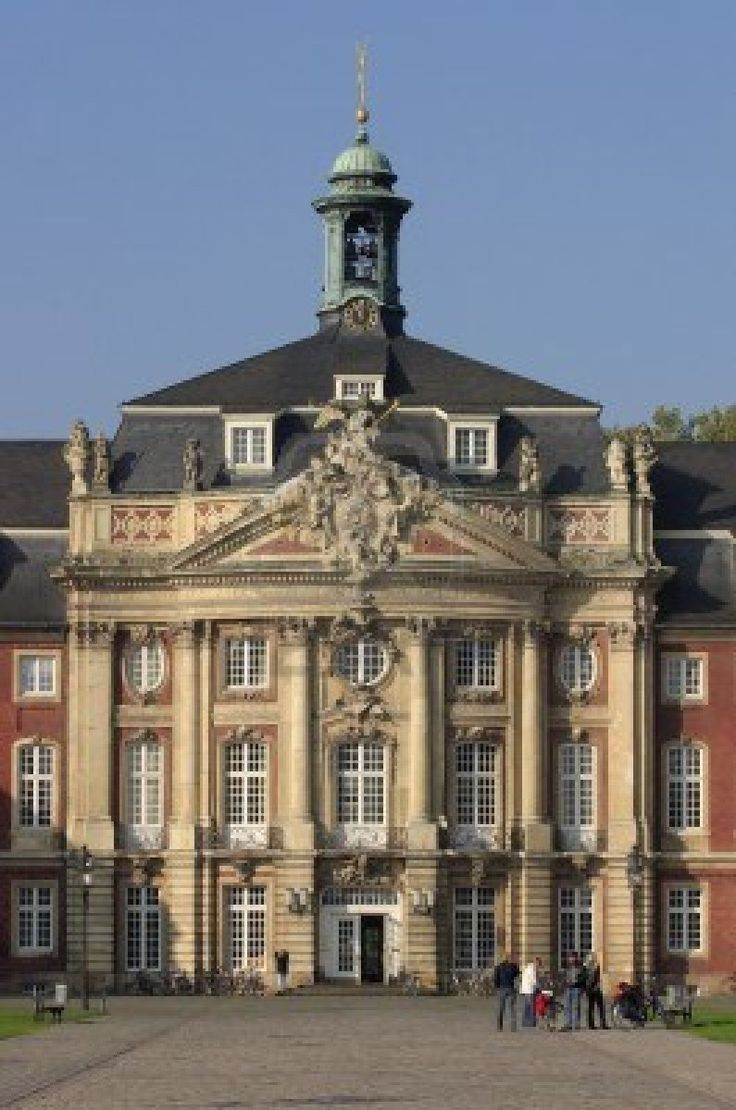 Castle University In Munster Germany Architecture Germany Pin
