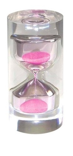 This pink kitchen timer is enough to make me want a pink kitchen!  #pink #kitchens #timers