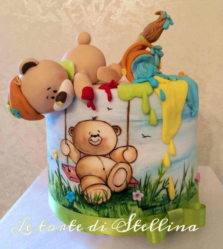 Детские рисунки на торт