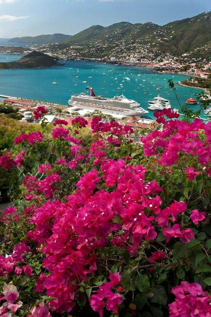 Caribbean Cruise: St. Thomas Views The Place I got married!