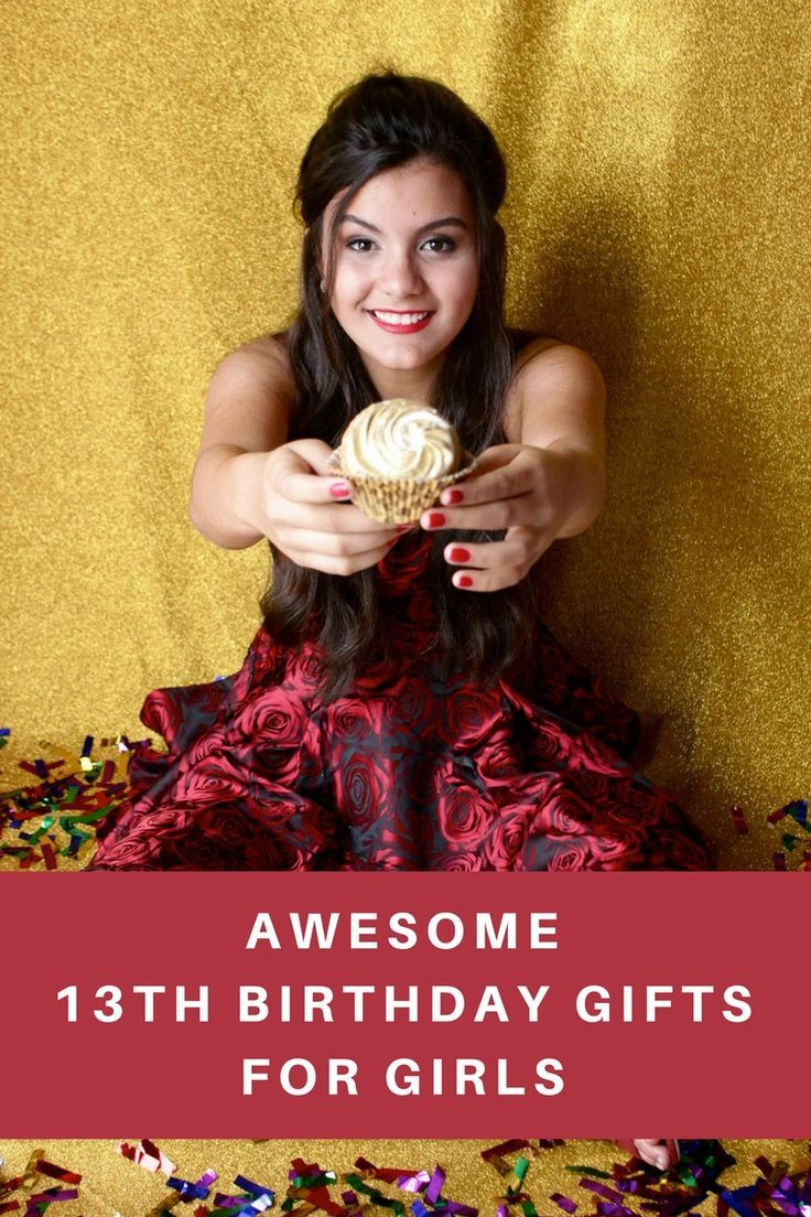 20+ Of the Coolest 13th Birthday Gifts for Girls | Unique Gifts for ...