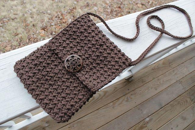 Ravelry: Crochet Crossbody Bag pattern by Britni Sherfield
