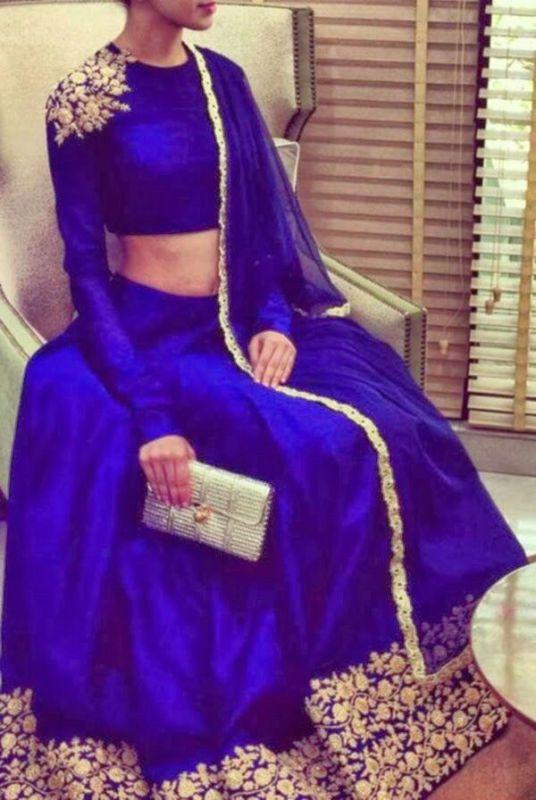 Indian Ehinic Anarkali  Floor length Dress Party wear Evening Wear Lehanga Choli
