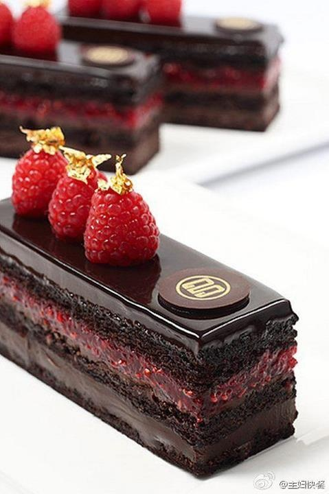 rasberry cake