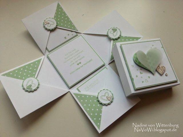 Neue Hochzeits-Explosionsboxen ...