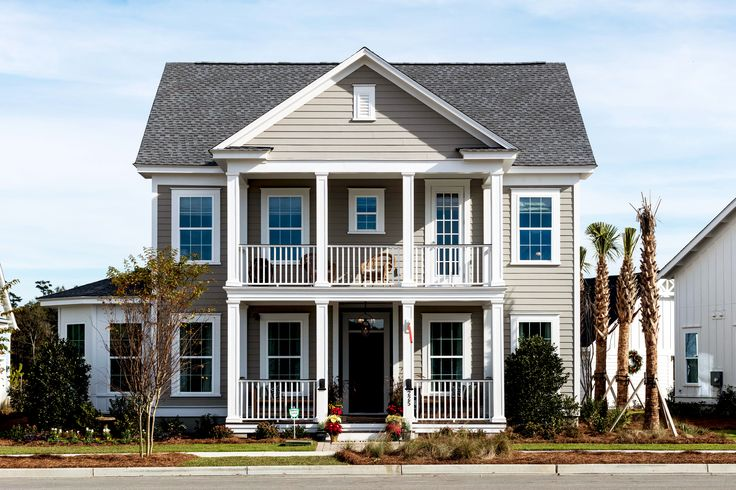 Sabal Homes Lowcountry Exteriors The Firethorn (With