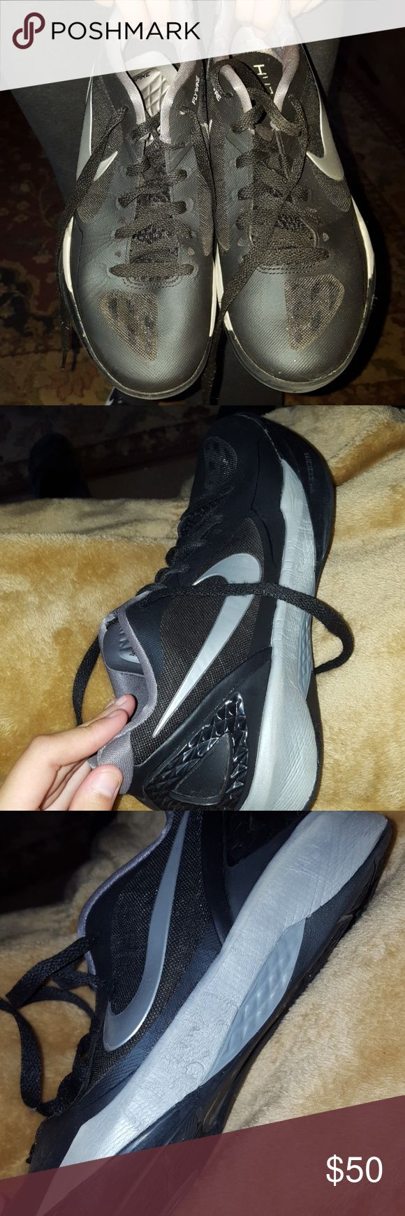 nike volleyball shoes worn for one club season but still in great condition Nike Shoes Athletic Shoes