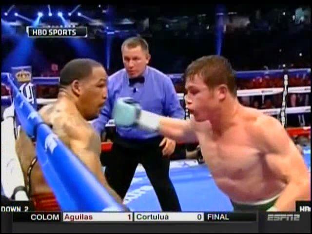 El Knockout Que Le Dio 'El Canelo' A Kirkland #Video