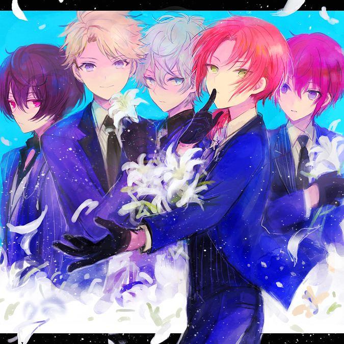 Pinterest Ensemble stars, Star illustration, Anime
