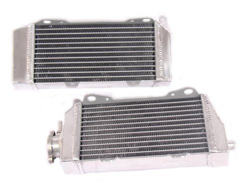 OPL HPR014 Aluminum Radiators For Honda CRF450R:   Our radiators are designed and engineered to maximize cooling efficiency by up to 30%, improve engine functions as well as prevent your vehicle from overheating. It is the ideal upgrade to the stock radiator whether you drive your vehicle daily or take it to the race tracks. OPL All-Aluminum radiators features a lightweight core, 100% aluminum, enhancing the overall performance of your engine.