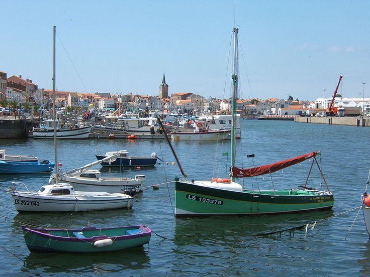 Les-Sables-dOlonne-le-Port - Les Sables-d'Olonne — Wikipédia