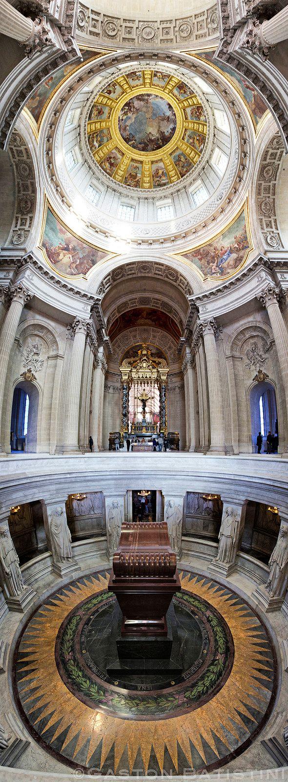 Dôme des Invalides, tombeau de Napoléon Ier, Paris, France   Flickr - Photo Sharing!
