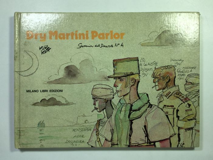 "Pratt, Hugo - vol. Gli Scorpioni del deserto (The desert scorpions) n. 4 ""Dry Martini Parlor"" (1983) - W.B."