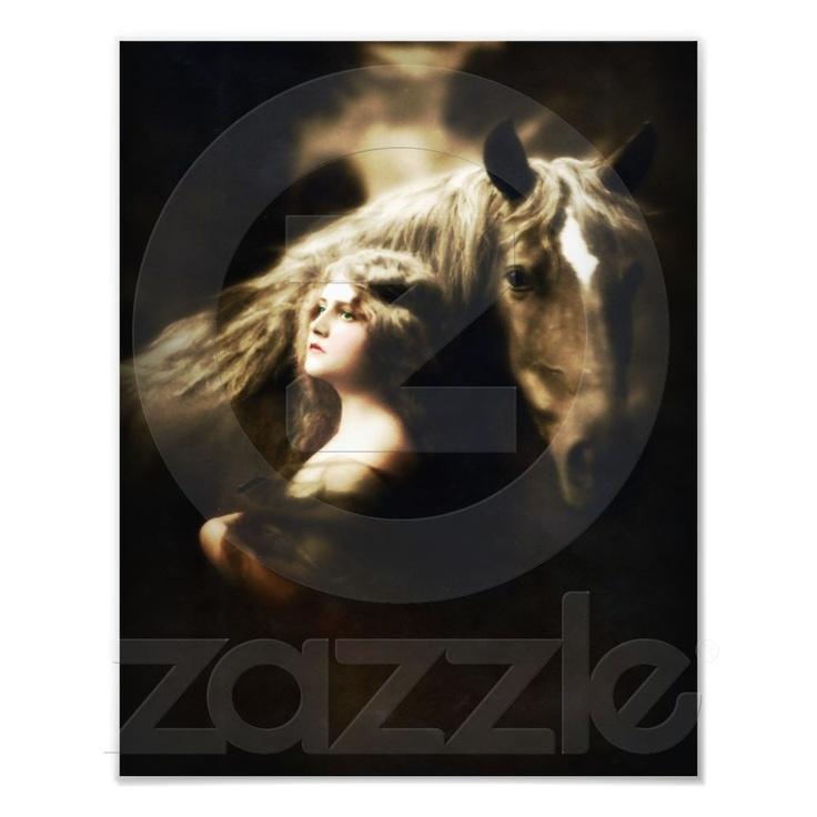 Vintage ZIGEUNER met PAARD Fotoafdrukken van Zazzle.nl
