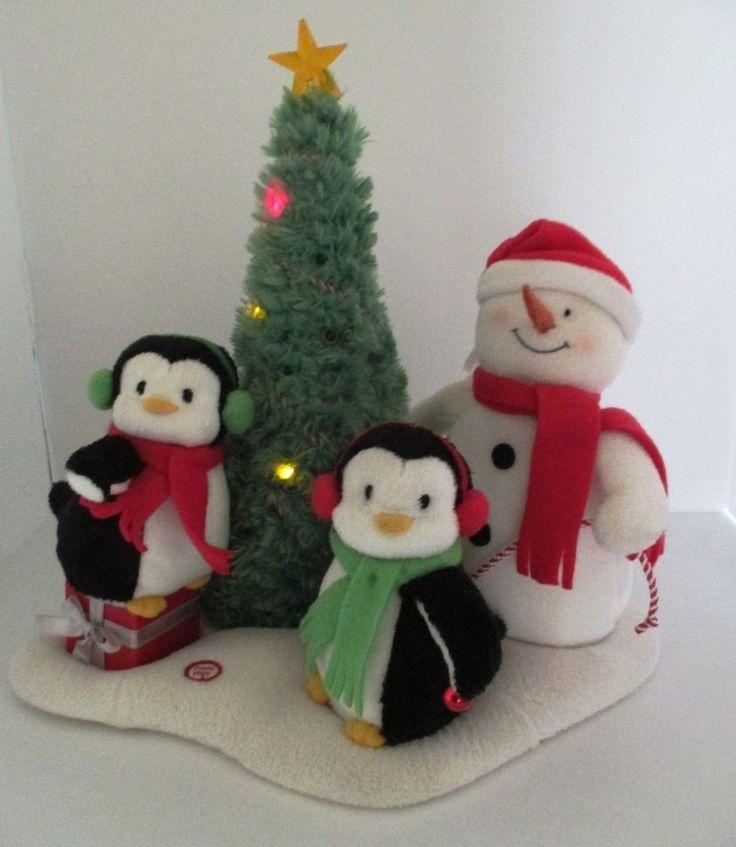 Penguin Christmas Tree: Hallmark JINGLE PALS Rockin' Around The Christmas Tree