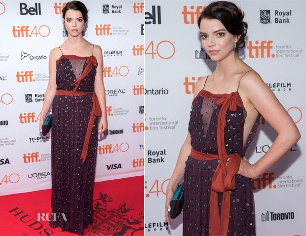 Anya Taylor-Joy In Prada – 'The Witch' Toronto Film Festival Premiere
